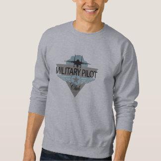 Pilot- klubb för militär långärmad tröja