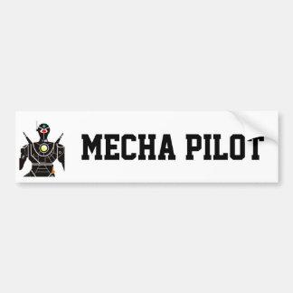Pilot- Mecha Bildekal