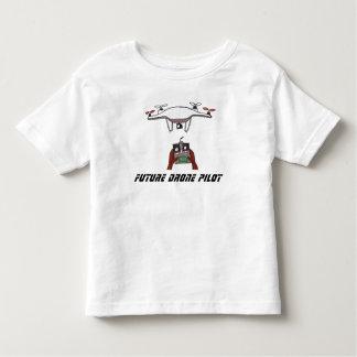 Pilot- småbarnt-skjorta för framtida surr t-shirts