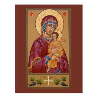 Pimen mor av gudbönkortet vykort