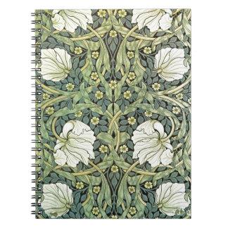 Pimpernel av William Morris Spiralbundna Anteckningsböcker