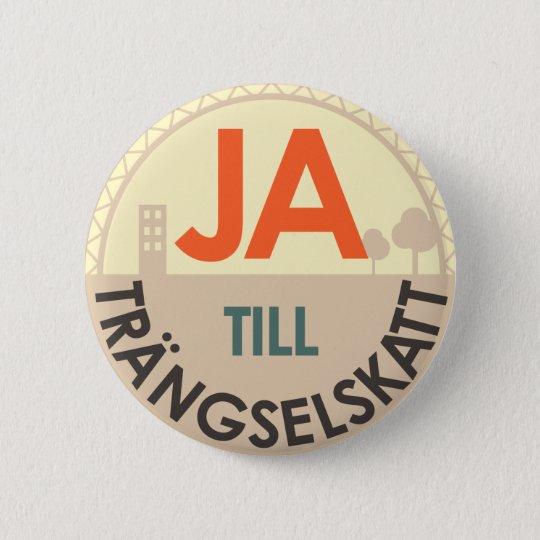 Pin - finns i flera storlekar! standard knapp rund 5.7 cm