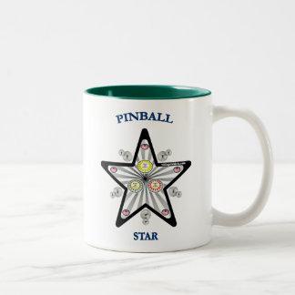 Pinballstjärna Två-Tonad Mugg