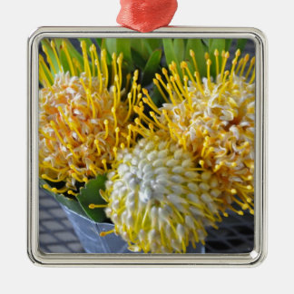 Pincushionblomma Julgransprydnad Metall