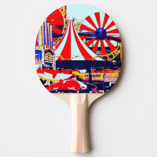 Ping Pong i rött Pingisracket