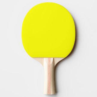 Pingen Pong paddlar/fladdermöss - grönt och gult Pingisracket