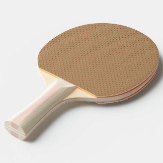 Pingen Pong paddlar guld med rött pricker Pingisracket