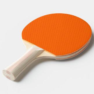 Pingen Pong paddlar orangen med rött pricker Pingisracket