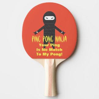 PingPong Ninja paddlar den roliga pingen Pong Pingisracket