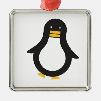Pingvin 2 julgransprydnad metall