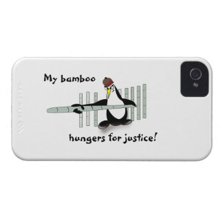 Pingvin för kung fu för Fodral-Kompis legitimation iPhone 4 Cover