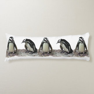 Pingvin förkroppsligar kudder kroppskudde