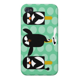 pingvin iPhone 4 fodral