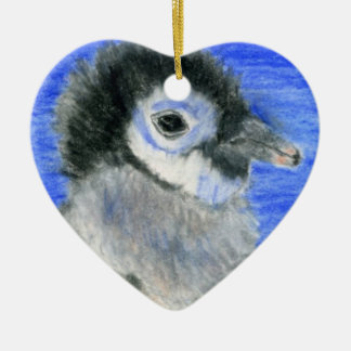 Pingvin Julgransprydnad Keramik