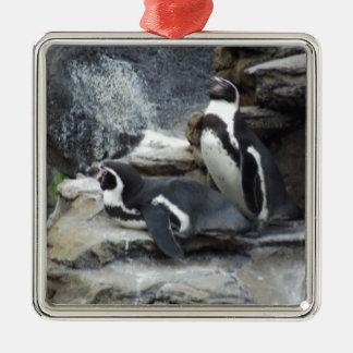 Pingvin Julgransprydnad Metall