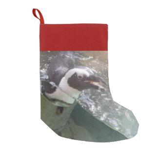 Pingvin Liten Julstrumpa