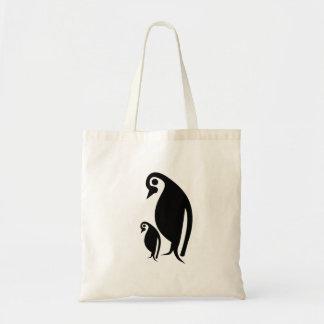 Pingvin och chick tygkasse