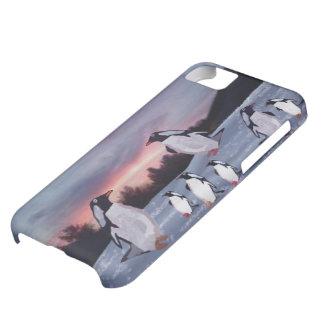 Pingvin på det isIPhone 5 fodral iPhone 5C Fodral