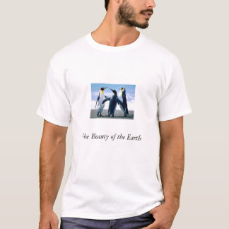 Pingvin skönheten av jorden t-shirt