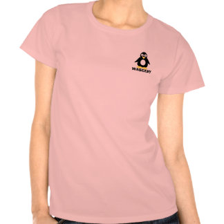 Pingvin vid Waseemy Tee Shirt