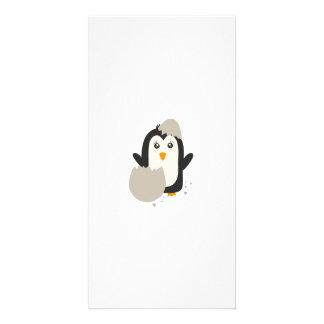 Pingvinbebis Fotokort