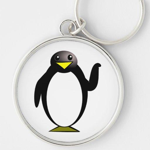 Pingvinclipart Nyckel Ring