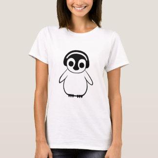 Pingvinet lyssnar till musik t shirts