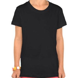 Pingvinflicka Bella Jersey T-tröja, svart T Shirt