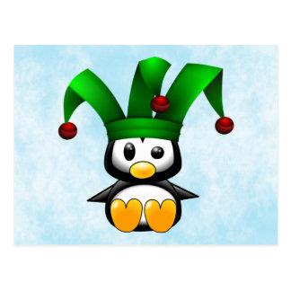 Pingvingyckelmakare Vykort