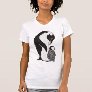 Pingvinkvinna T-tröja