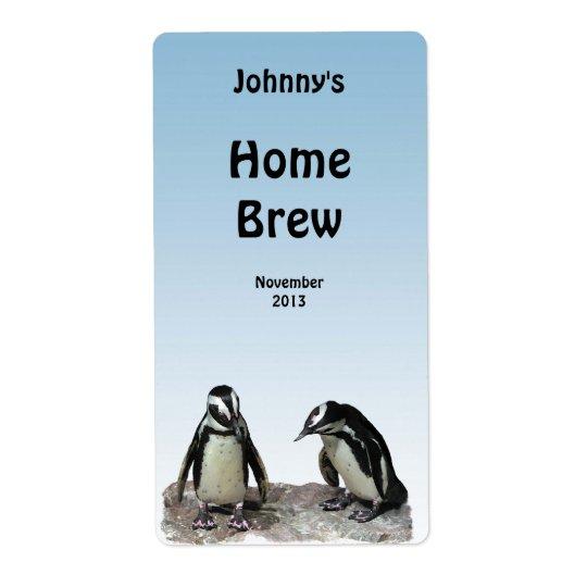 Pingvinöletikett Fraktsedel