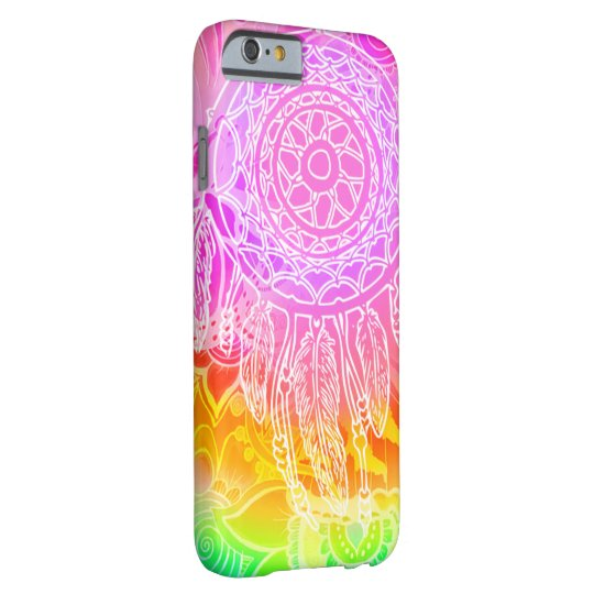 Pink hippecase barely there iPhone 6 fodral