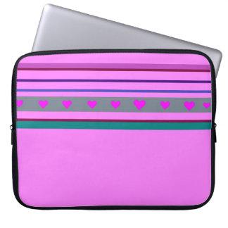 Pink Laptop Fodral