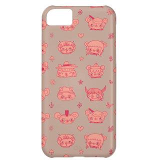 pinkish fodral för iphone 5 iPhone 5C fodral