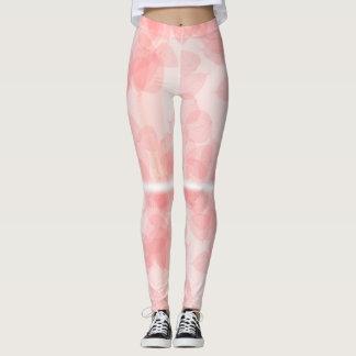 Pinklady lägga benen på ryggen leggings