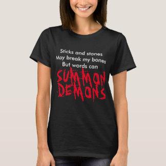 Pinnar och stenar kan bryta min benskjorta tröja