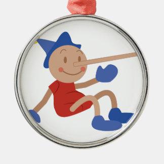 Pinocchio Julgransprydnad Metall