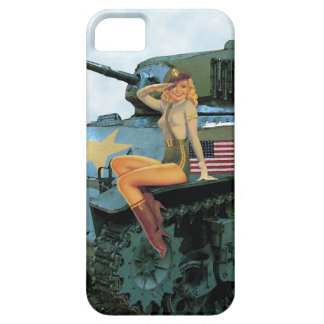 Pinuptankfartygiphone case barely there iPhone 5 fodral