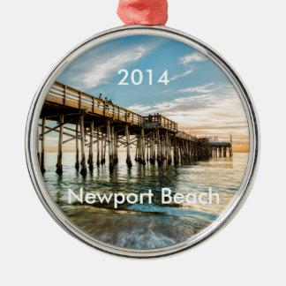 Pir för Newport strandBalboa Julgransprydnad Metall