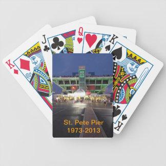 Pir för St. som Pete leker kort Spelkort