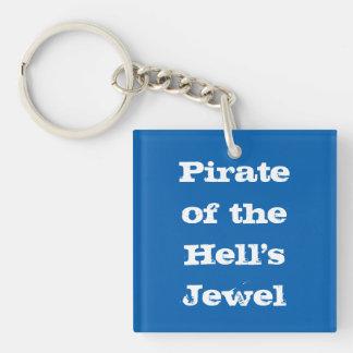 Pirat av helvete juvel Keychain