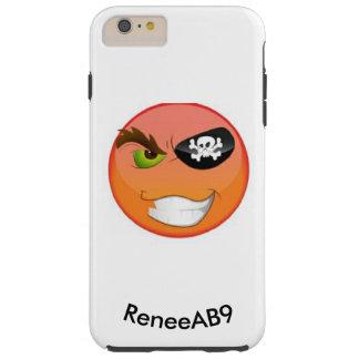 Pirat Emoji Iphone vid ReneeAB9 Tough iPhone 6 Plus Fodral
