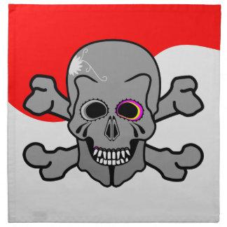 Pirat Jolly Roger Servett