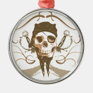 Pirat! Julgransprydnad Metall