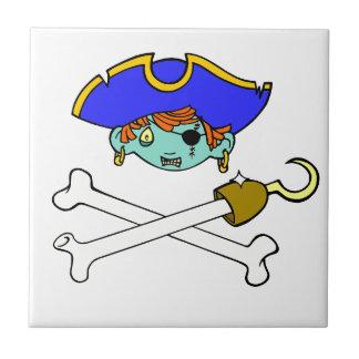 pirat liten kakelplatta