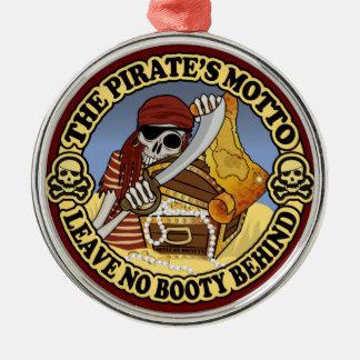 Pirat Motto Julgransprydnad Metall
