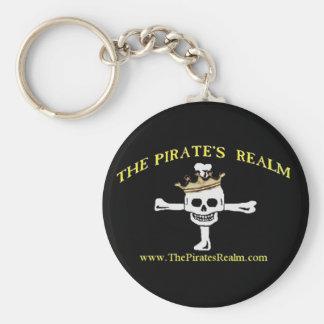 Pirat sfär Keychain Rund Nyckelring