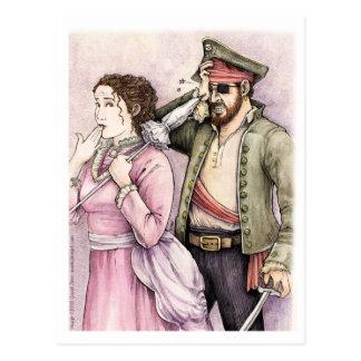 Pirater av den Penzance vykortet Vykort