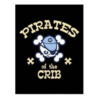 Pirater av lathunden vykort
