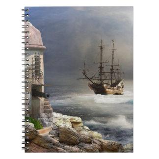 Piratfjärdanteckningsbok Anteckningsbok
